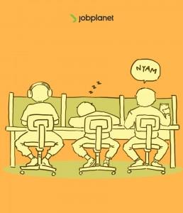 kebiasaan karyawan di kantor
