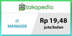 gaji manager tokopedia