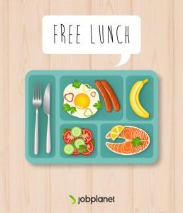 perusahaan memberikan makan siang gratis