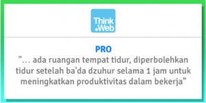 kerja di think web