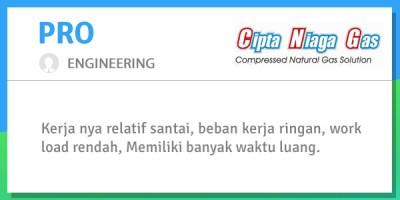 engineer pt cipta niaga gas