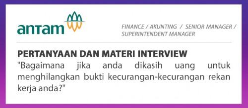 interview aneka tambang