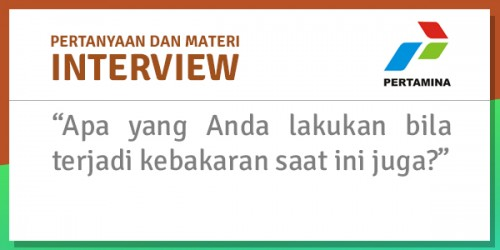 interview di pertamina