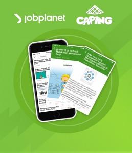"""Artikel Jobplanet Kini Tersedia di """"Caping"""""""