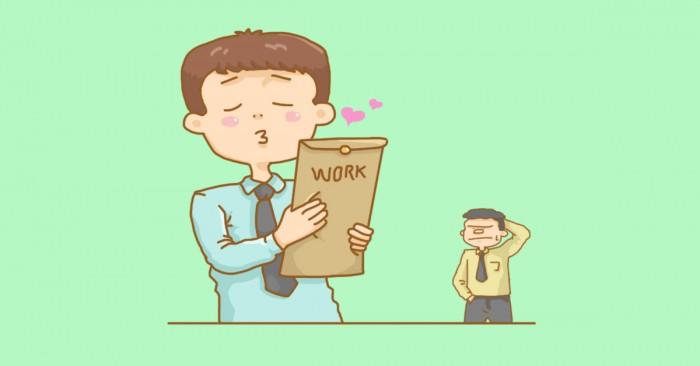 belajar mencintai pekerjaan