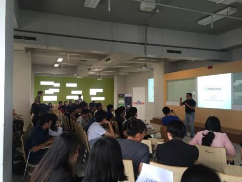 Baidu Indonesia & Jobplanet Go to Campus: Binus University, Alam Sutera