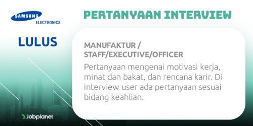seleksi masuk 3 perusahaan teknologi