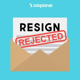 Pengajuan Resign Ditolak